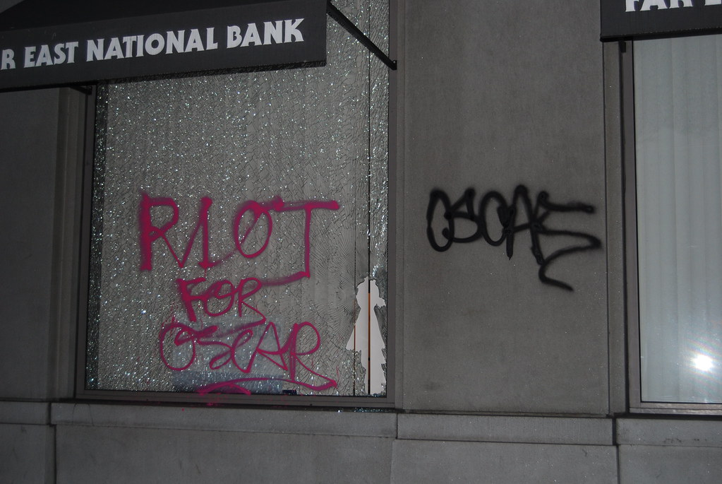 RIOT for Oscar Grant - Oakland, CA.
