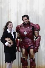 Iron Man and Pepper (_MG_7244) (LynxPics) Tags: sf sanfrancisco street man pepper iron fair ironman superhero 2010 potts pepperpotts superherostreetfair