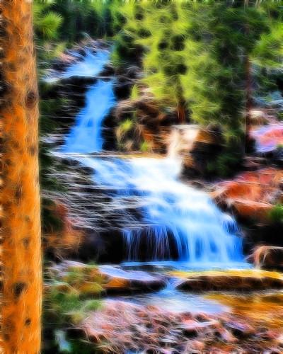 8x10 Provo River Falls fract IMG_9592