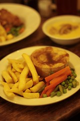 Cheshire Cheese - steak and ale pie