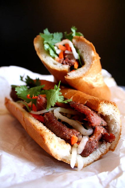 Our bestseller- Honey Grilled Pork banh mi!