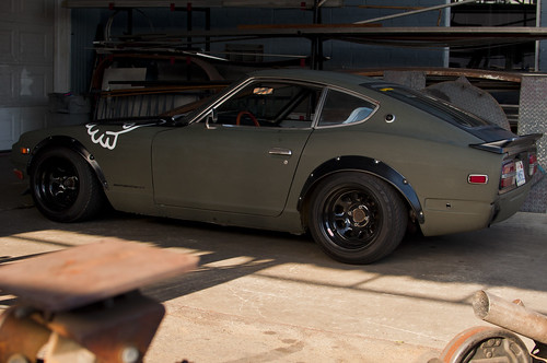 July Photo ops with the 240z