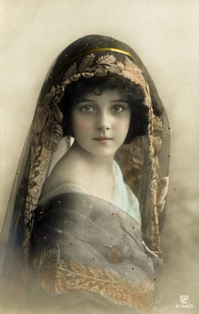 Vintage Photography Vintage Child 1911