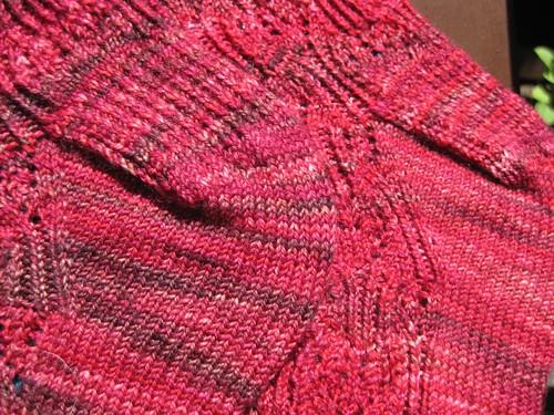 Rosebud Socks- Heels