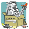 Physical search box