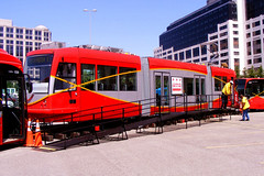 DC streetcar on display (by: thecourtyard, creative commons license)