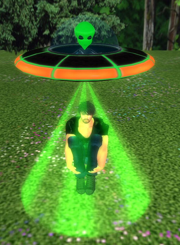 OOTW 01 - Altya's Dream Creations and Toys Alien Abduction UFO