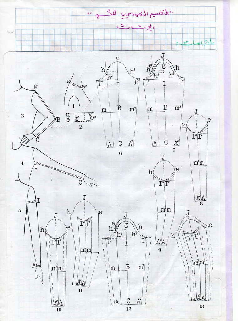 رسم باترون الكم الحريمي 4788610057_8307e06c56_b