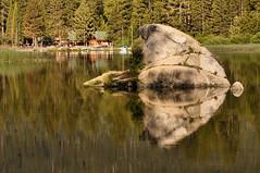 Rock reflection (ImagesbyEduardo.com) Tags: california park travel lake reflection nature rock landscape outdoors nikon national hume sequoia eduardo d300 1685 rubyphotographer imagesbyeduardo