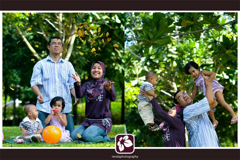 Hasnor + Hasnah Family's