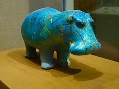 Hippopotamus from the Tomb of Senbi, Dynasty 12 (1981-1885 B.C.) (WavesDream) Tags: nyc art museum met