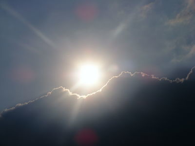 Sky and Clouds - sun rays