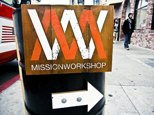 Mission Workshop Sign
