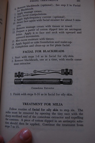 Acne tool. Which is terrifying.