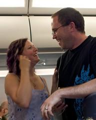 Sharing is caring (bsii) Tags: dublin milan june airplane inflight susan ryan danceparty aerlingus 2010 iphone afsnikkor24mmf14ged 240mmf14