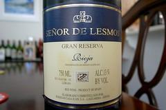 1995 Bodegas Casa Juan Señor de Lesmos Rioja Gran Reserva