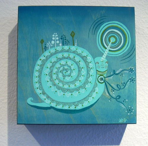 Laura Berger - Magical Unicorn Snail