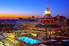 San Diego - Hotel Del Coronado (Silver1SWA (Ryan Pastorino)) Tags: sunset beach pool canon eos hotel sandiego dusk resort coronado hoteldelcoronado sandiegobay canonef24105mmf4lisusm canon24105l 40d canoneos40d