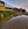 Calm Reflections (Pete Marsden) Tags: uk reflection water dawn ripples mersey wirral newbrighton