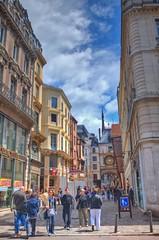 France - Rouen - Streetview - Rue Gros Horloge