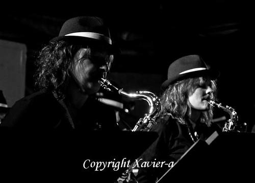 Concert de jazz a Arignac by Xavier.A