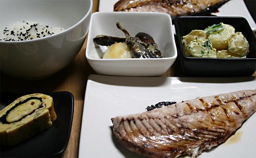 Grilled Saba Dinner