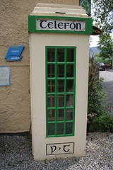 Old phone box (Liam Cheasty) Tags: ireland stainedglass tipperary flowershow glenofaherlow motorhometravel liamcheasty clonbegchurch