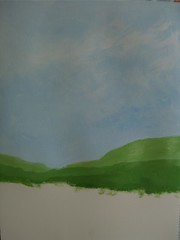 "Art practice: ""Blue Sky, Green Fields"" (3 of 7)"