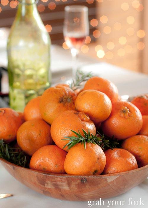 festive mandarins