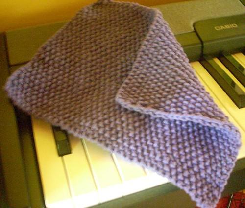Purple Dishcloth
