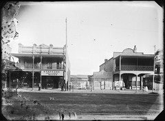[Hunter Street, Newcastle, NSW, April 1891] (Cultural Collections, University of Newcastle) Tags: newcastle australia nsw stafford box41 1891 hunterstreet milliners ralphsnowball snowballcollection ralphsnowballcollection staffordhatandshirtmaker asgn0943b41 newcastleregionnswhistorypictorialworks photographynewsouthwalesnewcastle