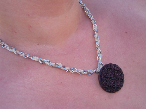 Botton Necklace (by Orquidea)