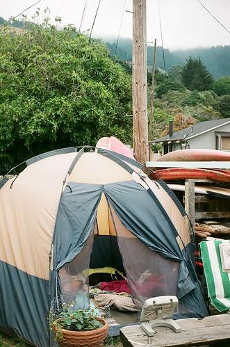 where we camped- stinson beach