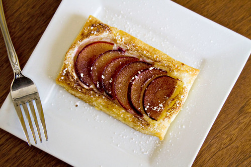 Puff Pastry Plum Tartlets - 5