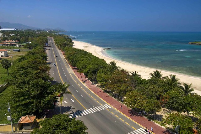 Malecon in Puerto Plata