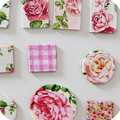How to make decoupage magnets