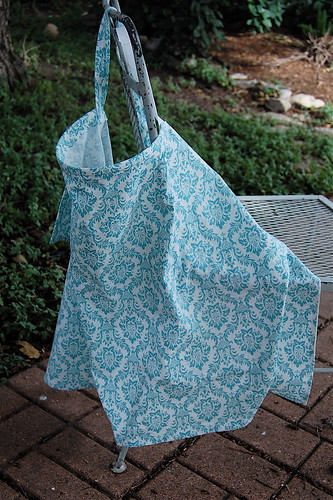 DIY nursing cover