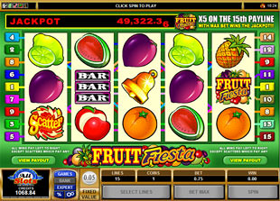 Fruit Fiesta 5-Reels slot game online review