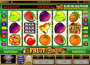 Fruit Fiesta 5-Reels slot game online review