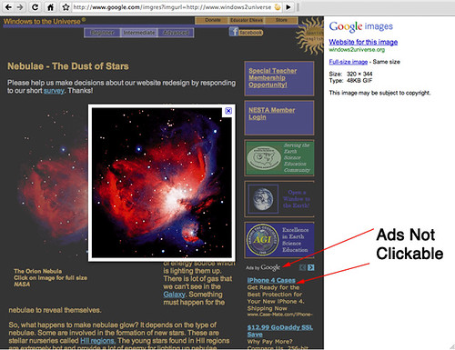 Google Images Clicks