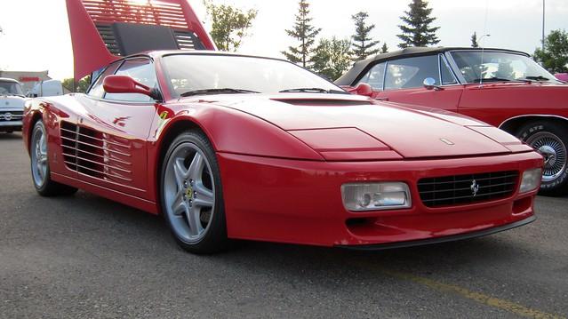 red ferrari stalbert sa exotics pininfarina zr sportcar 512tr carmeet golddustcasino stalbertcruisers