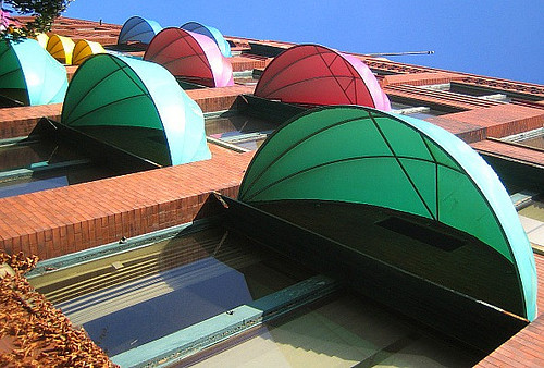 Bubble awnings