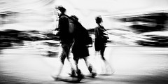 Exodus (Rob Castro) Tags: family motion blur sepia walking extreme sydney wave pan canonrebelxt sweep apathy highiso 1855mmkitlens harbourstreet crappylens allxpressus juznobsrvr robcastro justanobserver juzno iamgenerationimage 2014robcastro