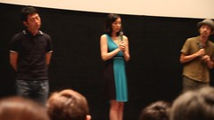 Kazue Fukiishi 吹石一恵 talking at Gegege no Nyobo world premiere