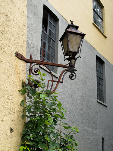 An Old Lamp Post - Bergen, Norway