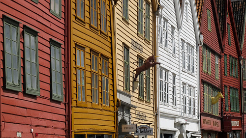 The Old Warehouse District - Bergen, Norway