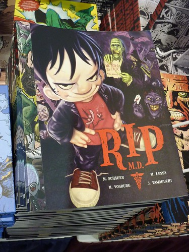 Comic-Con 2010 debut: RIP M.D. by Mike Vosburg & Mitch Schauer