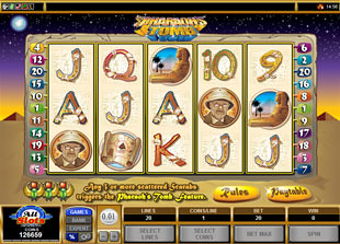Pharaoh's Tomb slot game online review