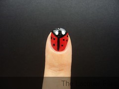 ail Art Tutorial Ladybugs Design