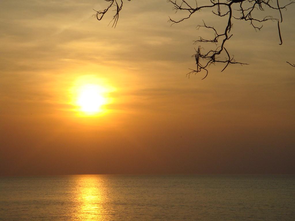 Lake Erie from Geneva, Ohio
